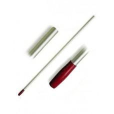 1003097 Ручка алюминиевая ACG 23x1450 мм, для флаундеров красная