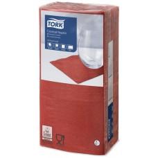 477826 Tork Салфетки красные, 2-сл., 24*24, 200 листов, 12 упак/кор.