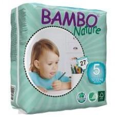 Bambo Nature Подгузник для детей  Junior 5, 12-22 кг, 27 шт. (310135)