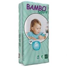 Bambo Nature Подгузник для детей  Junior 5, 12-22 кг., 54 шт.  (310145)