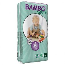 Bambo Nature Подгузник для детей  Maxi 4 7-18 кг 60 шт. (310144)