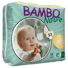 Bambo Nature Подгузник для детей Midi 3  5-9 кг 33 шт. (310133)