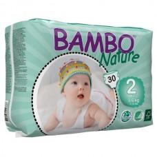 Bambo Nature Подгузник для детей  Mini 2 3-6 кг 30 шт. (310132)