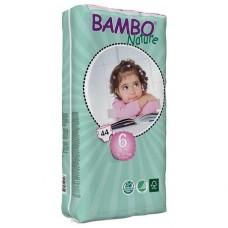 Bambo Nature Подгузники для детей XL-Plus 6 (16-30 кг) 44 шт. (310146)