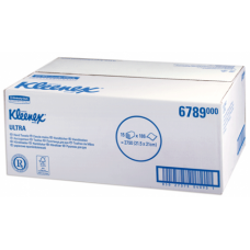 Полотенца для рук бумажные Kimberly-Clark Kleenex Super, 6789