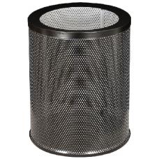 Корзина для бумаг Л250НП из перфорированной оцинкованной стали с полимерным покрытием, 16 л.