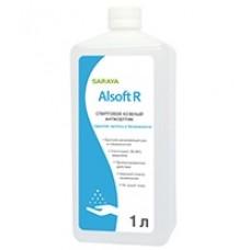 Кожный антисептик Alsoft R 1 л. для локтевых дозаторов