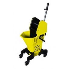 NU3Y сервисное Эрго ведро на колесах с фильтром-ловушкой для грязи и отжимом 26 л.