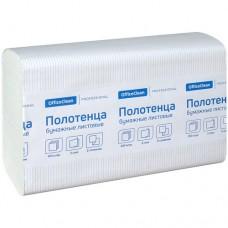 """Полотенца бумажные листовые Z сложения OfficeClean """"Professional"""" 245843"""