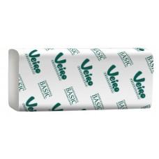 Полотенца бумажные в листах Veiro KV104, ZZ (V) -сложение. система F1