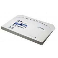 Покрытия на унитаз бумажные индивидуальные Tork Advanced, система V1, 750160