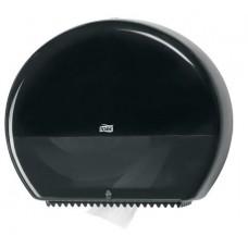 Диспенсер Tork Elevation для туалетной бумаги в больших рулонах, чёрный, система T1, 554008