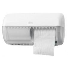 Диспенсер Tork Elevation для туалетной бумаги в стандартных рулончиках, система T4, белый, 557000