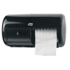 Диспенсер Tork Elevation для туалетной бумаги в стандартных рулончиках, система T4, чёрный, 557008