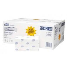 Полотенца листовые мягкие Tork Premium, сложение ZZ, система H3, 100278