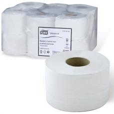 Бумага туалетная в мини-рулонах, Tork Universal, система T2, 120197