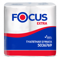 Туалетная бумага Focus Extra, 2 слоя 5036769