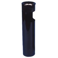 Урна круглая К150 из оцинкованной стали с полимерным покрытием 10 л