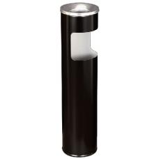 Урна круглая К150Н из оцинкованной стали с полимерным покрытием перфорация 10 л