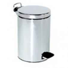 Ведро для мусора из  нержавеющей стали с педалью,  30 литров, арт. 09104.В