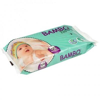 Влажные салфетки Bambo Nature, 50 шт. (659722)