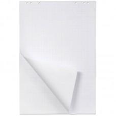 Блок бумаги для флипчарта 64*96 см, белый, 20 л, в клетку