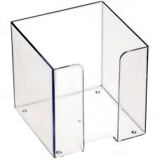 Бокс для бумажного блока 9*9*9, прозрачный