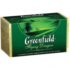 Чай Greenfield Flying Dragon, зеленый, 25 фольг. пакетиков по 2гр