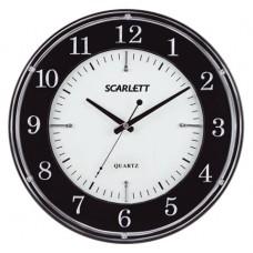 Часы настенные ход плавный SCARLETT SC-55DC