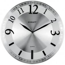 Часы настенные ход плавный SCARLETT SC-55N