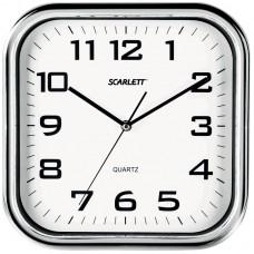 Часы настенные ход плавный SCARLETT SC-WC1003O
