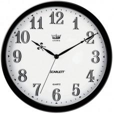 Часы настенные ход плавный SCARLETT SC-WC1004O