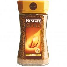 Кофе растворимый Nescafe Gold, 95г, стеклянная банка