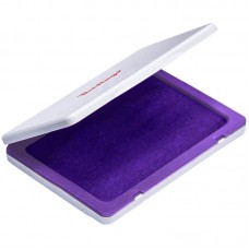 Штемпельная подушка 100*80мм фиолетовая