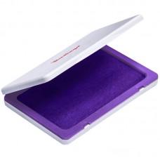 Штемпельная подушка 120*90мм фиолетовая