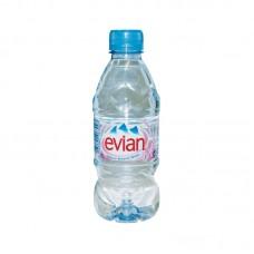 Вода минеральная без газа Evian, 0,33 л, ПЭТ,  24шт./упак.