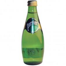 Вода минеральная газированная Перье, 0,33 л, стекло, 24шт./упак.