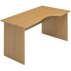 Стол письменный угловой правосторонний, 1400*900/700*750, Стиль/Бук