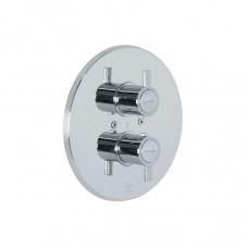 Термостат для душа встроенный Ramon Soler 3387S с двумя регулирвоками Drako