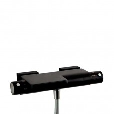 Термостат для ванной настенный с изливом Ramon Soler 2639SN Arola черный