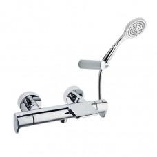 Термостат для ванной настенный с гибким душем Ramon Soler 3639T1 Alexia