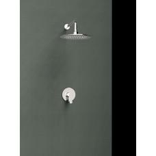 Душ настенный встроенный с однорычажным смесителем Ramon Soler K1818013 Titanium