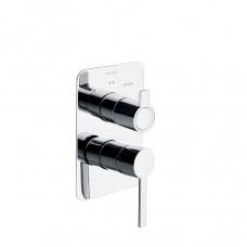 Смеситель для душа настенный встроенный двухрычажный Ramon Soler 331503S Drako