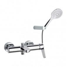 Смеситель для ванной настенный с гибким душем Ramon Soler 3605TR Alexia