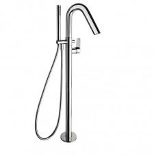 Смеситель для ванной напольный с гибким душем Ramon Soler 3685S Alexia