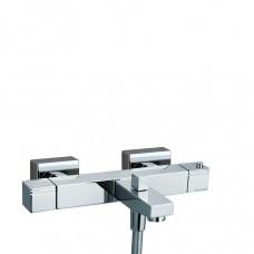 Термостат для ванной настенный с подключением гибкого душа Ramon Soler 4736S Kuatro