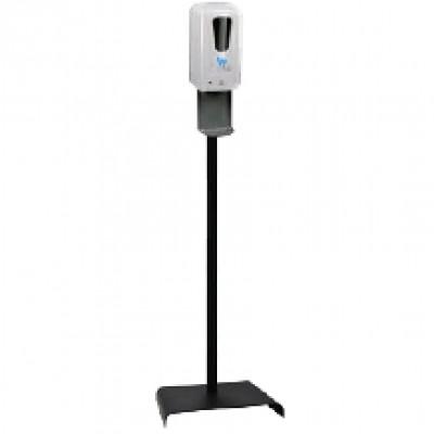 Диспенсер сенсорный для дезинфектанта WHS с UV на стойке PW-1408B